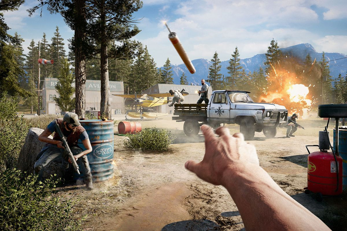 far cry 5 tips use your surroundings