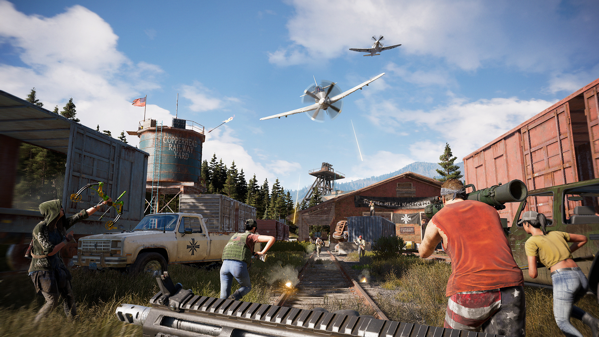 far cry 5 tips challenge yourself