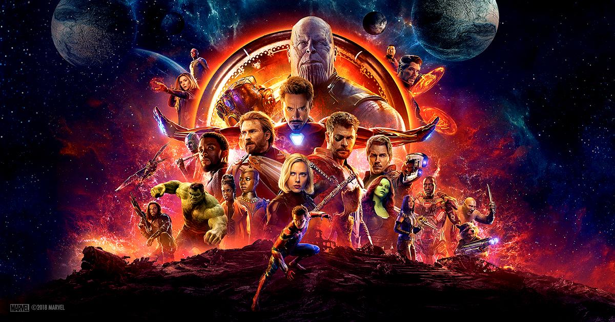 avengers infinity war squad