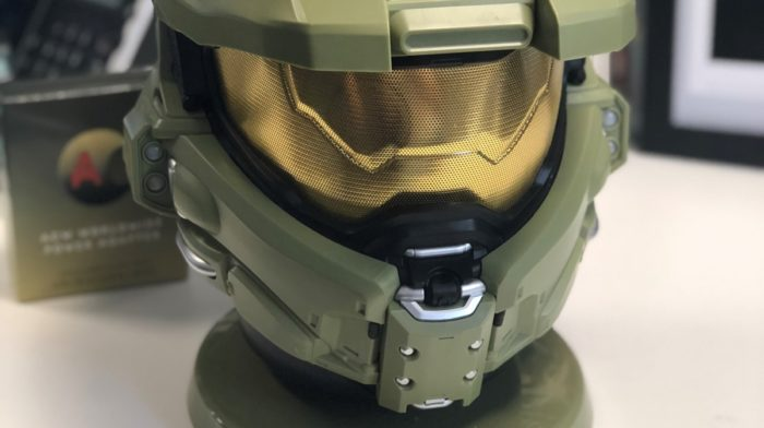 Feature: AC Worldwide HALO Master Chief Bluetooth Speaker