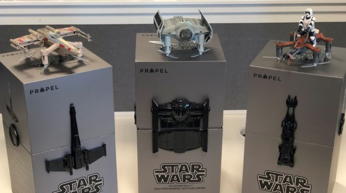 The Most Fun You'll Have Today: Propel RC Star Wars Battle Drones