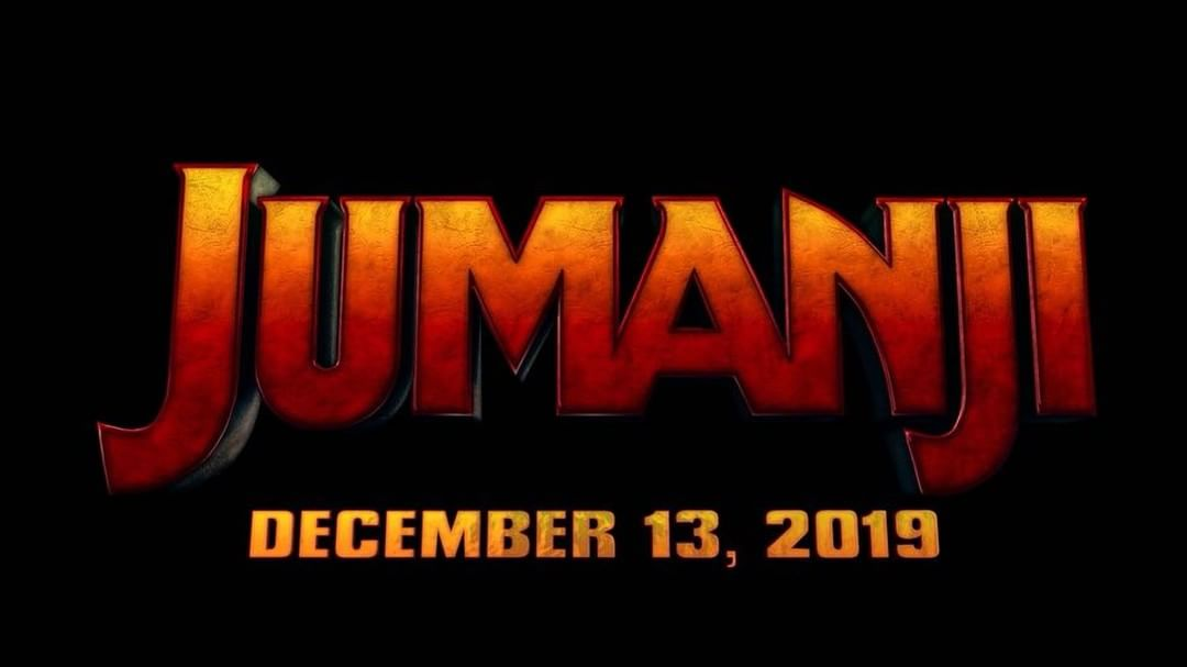 Jumanji Sequel out December 3rd 2019.