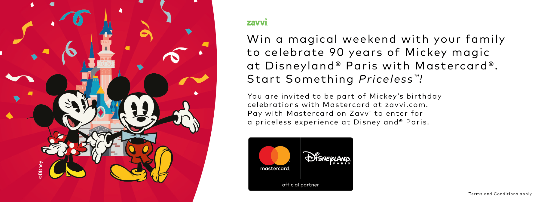 Win a trip to Disneyland courtesy of Mastercard and Zavvi