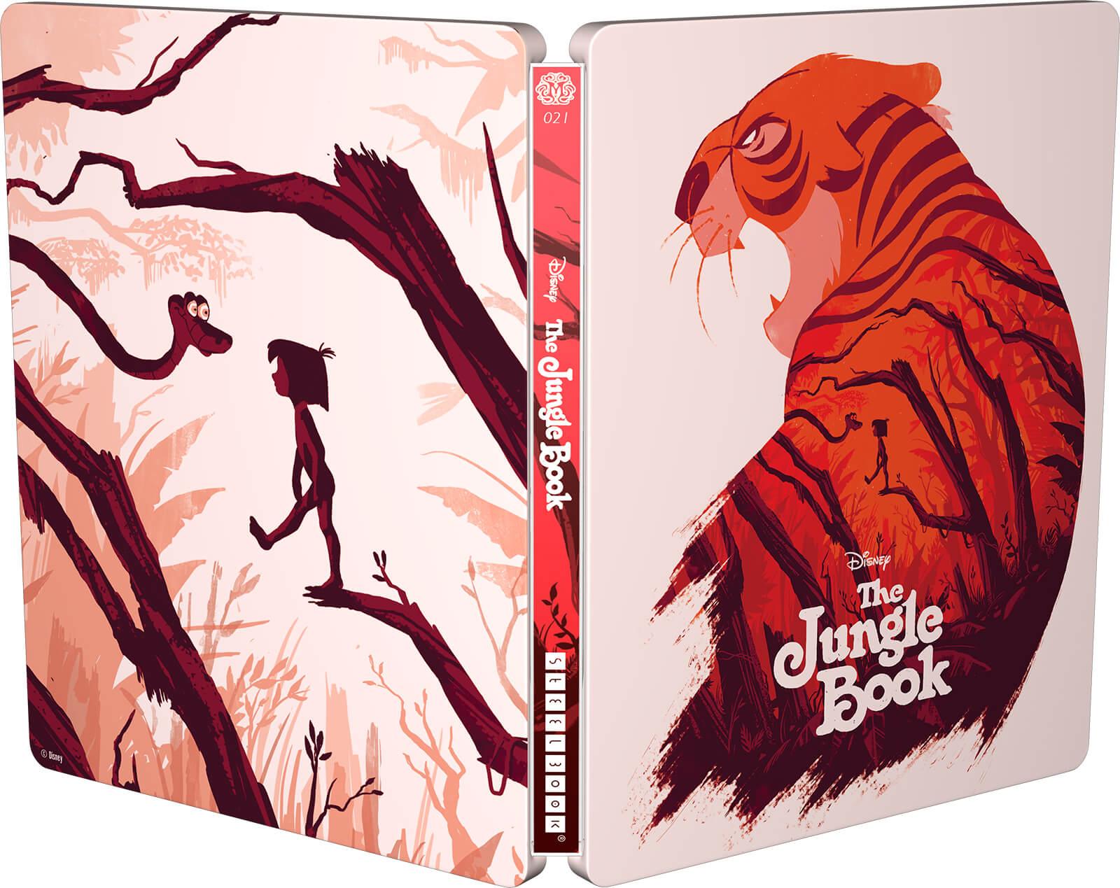 The Jungle Book (Animation) - Mondo Steelbook Zavvi Exclusive Exterior