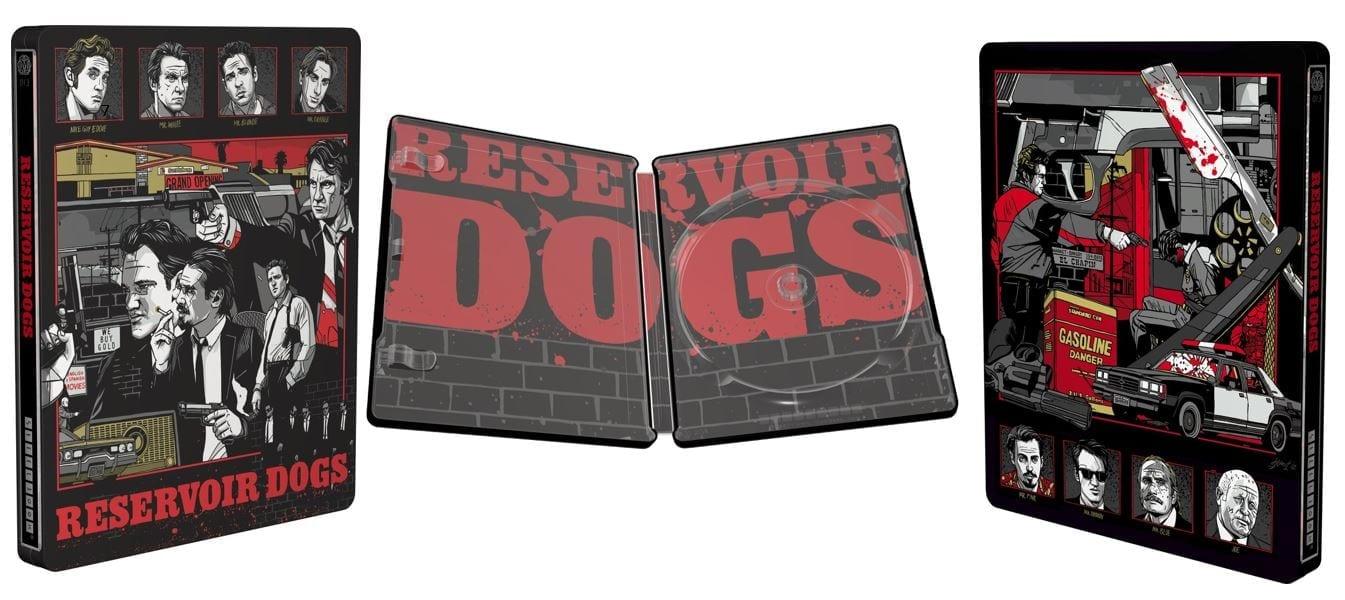 Reservoir Dogs - Mondo X Steelbook - UK Exclusive Limited Edition Steelbook