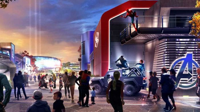 'Marvel Land' Is Officially Coming To Disneyland In 2020