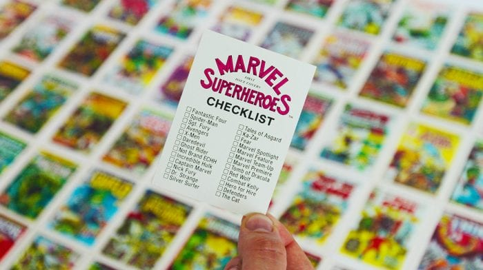 Sneak Peek: Rare 1984 Marvel Trading Card Set