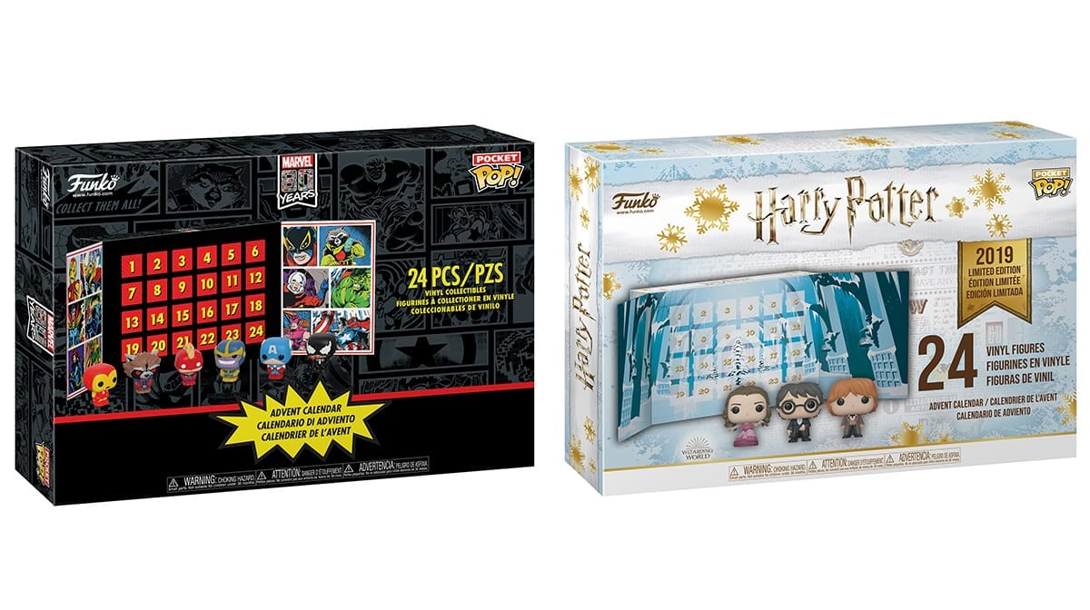 Calendrier De Lavent Harry Potter Funko Pop.The Funko Pop 2019 Advent Calendars Have Landed