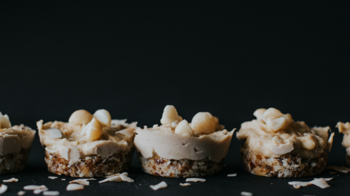 Coconut Macadamia Mini Cheesecakes