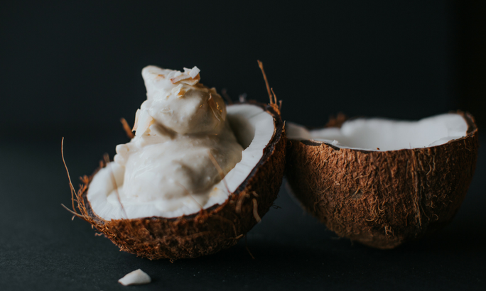 coconut saturated fat