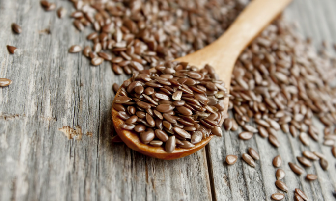 flaxseed, excellent source of fiber
