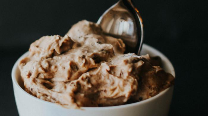 Peanut Butter Chip Vegan Ice Cream
