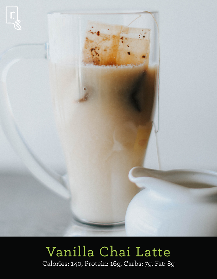 Vanilla Chai Latte IdealRaw