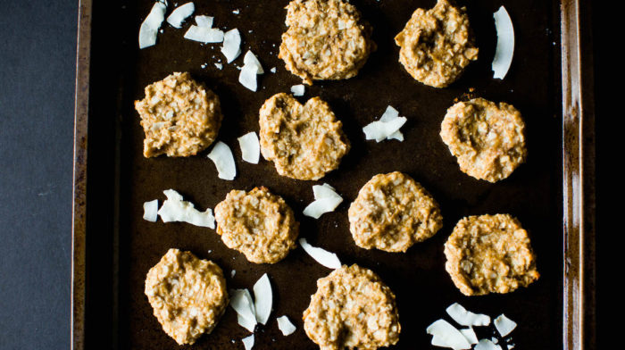Coconut Banana Cookies