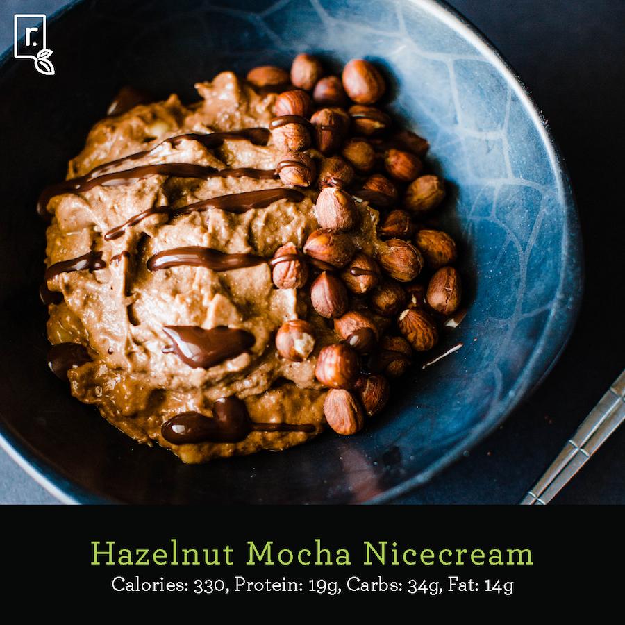 Hazelnut Mocha Nicecream