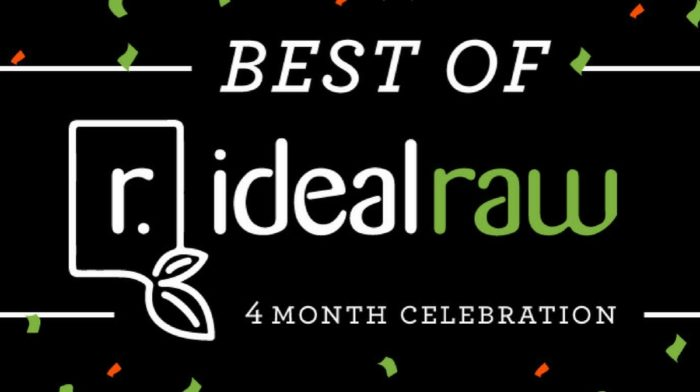 The Best of IdealRaw's First 4 Months