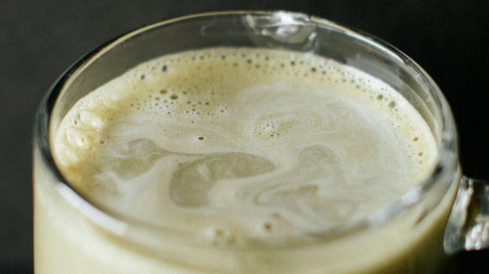 Coconut Milk Matcha Latte