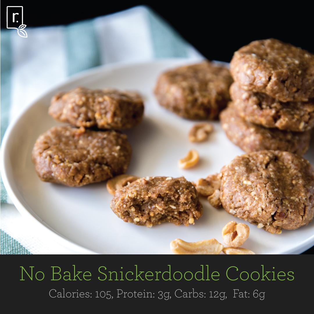 No Bake Snickerdoodles