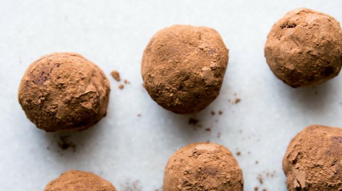 Dark Chocolate Mexican Truffles