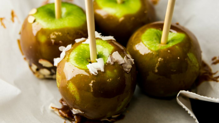 Wickedly Delicious Caramel  Apples