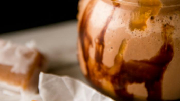 Chocolate PB Caramel Smoothie