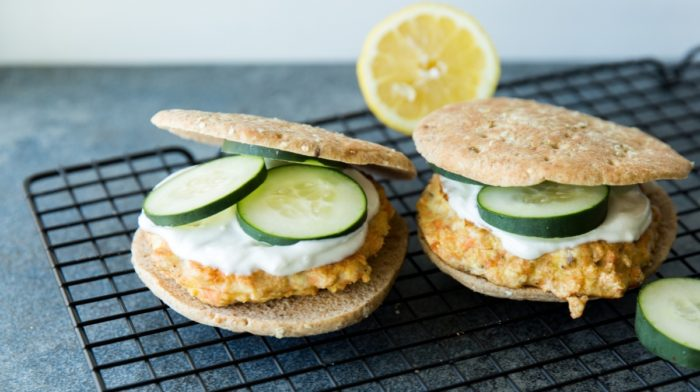 Salmon Burgers - The Dinner for Fathers Day