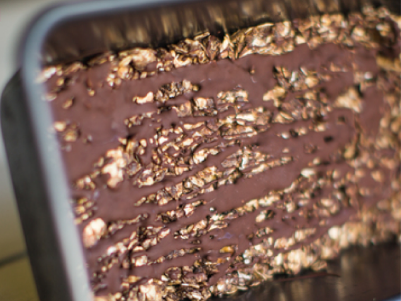 Healthy no bake cookie bars