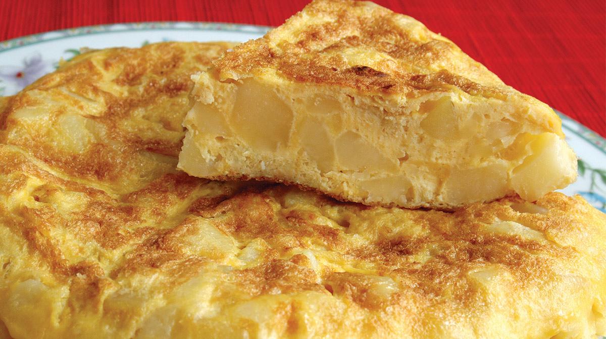 Tortilla alle Patate Spagnola