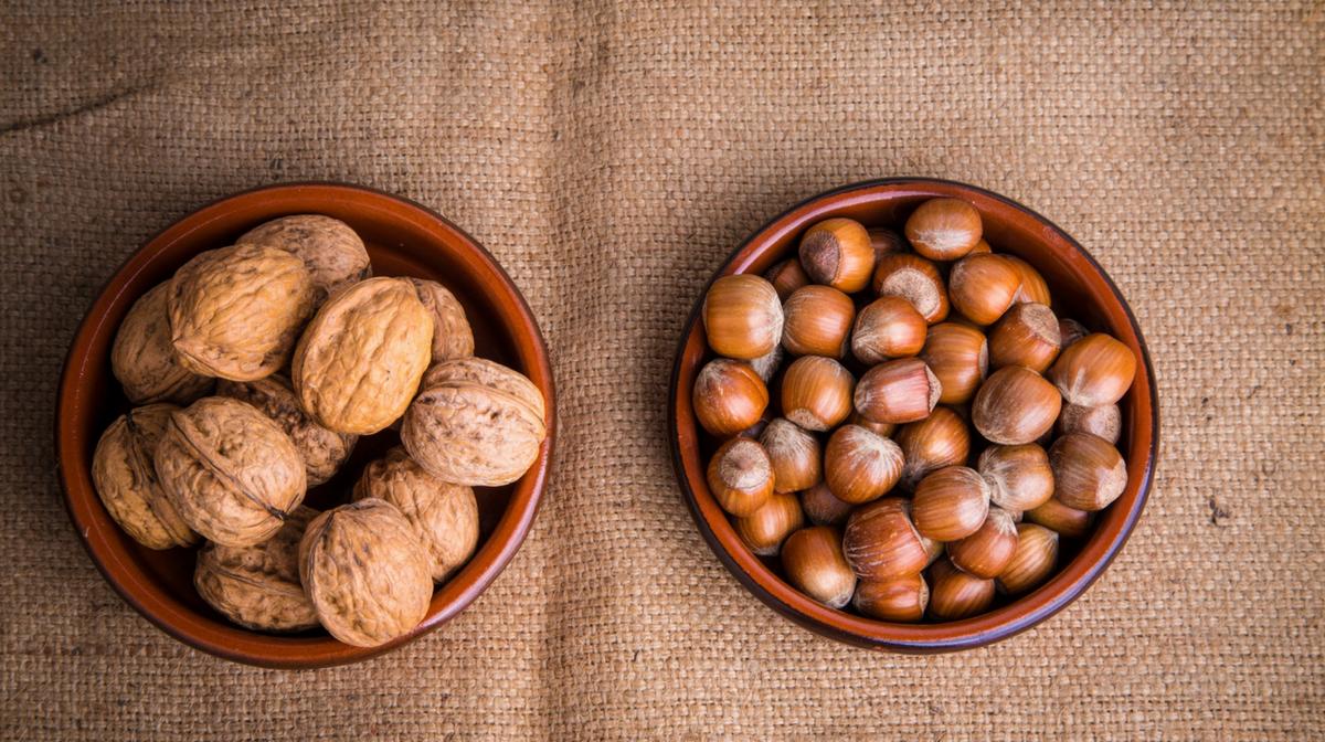 noci: fonti di proteine, grassi e nutrienti fondamentali per rimanere in forma.