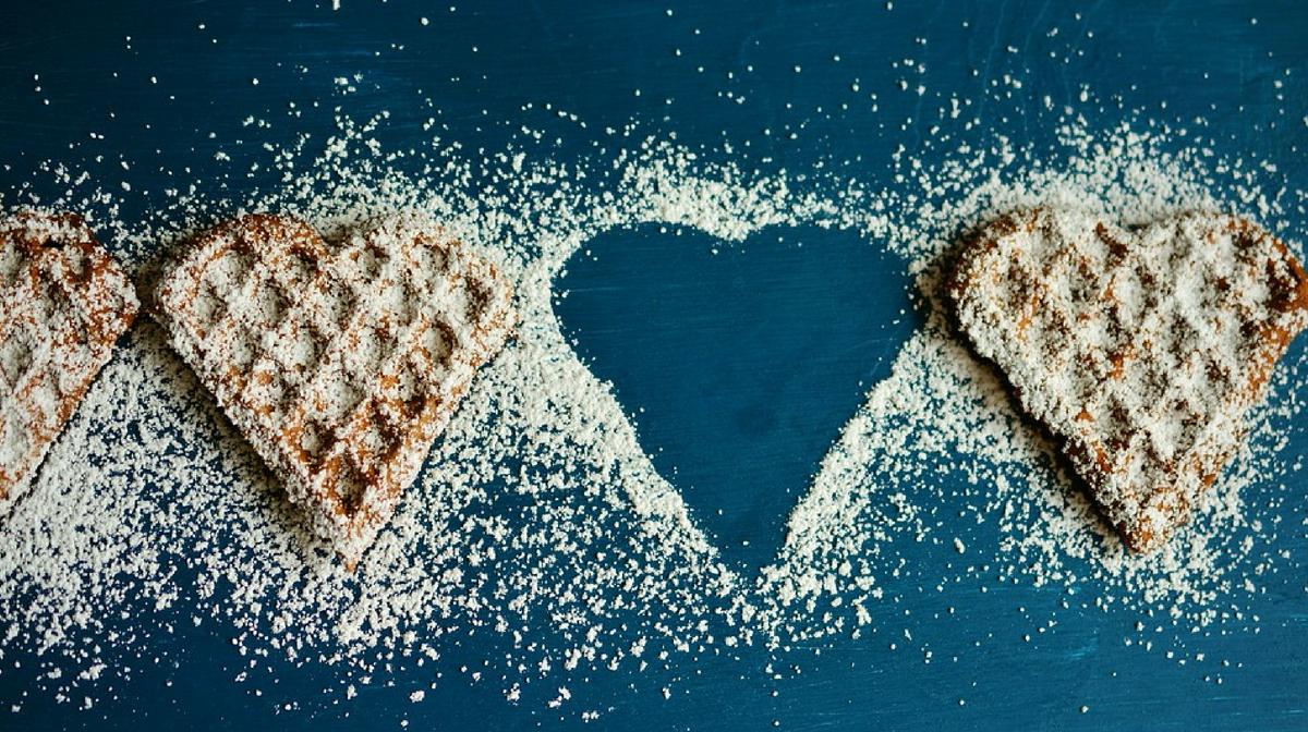 waffle a forma di cuore: provali con la nostra ricetta waffle light e proteica
