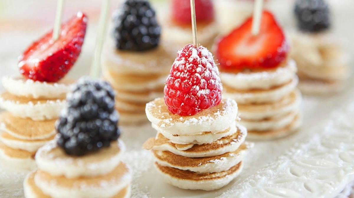 Desayunos: Súper Santa Tortitas