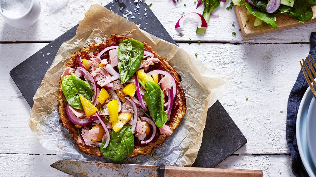 recetas vegetarianas: pizza