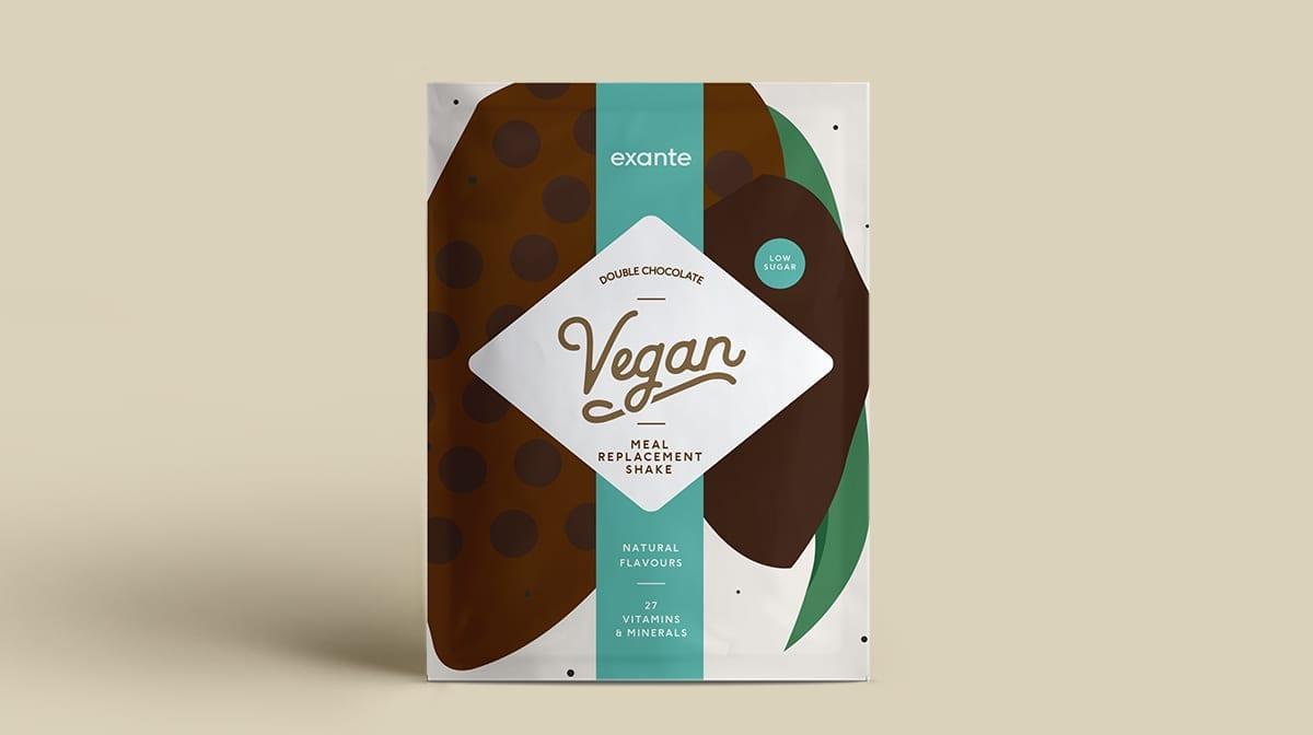 Batid Vegano de doble chocolate Dieta Exante