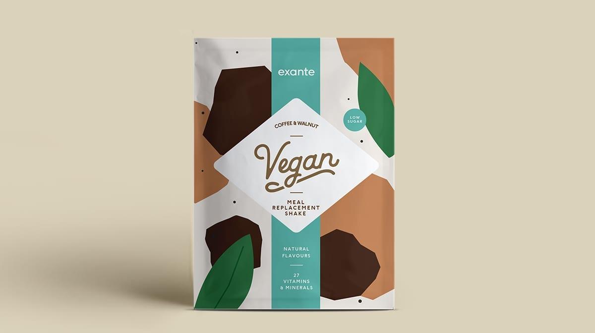 Batid Vegano de café y nuez Dieta Exante