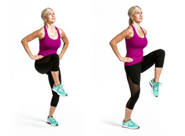 Ejercicio de piernas para reducir celulitis