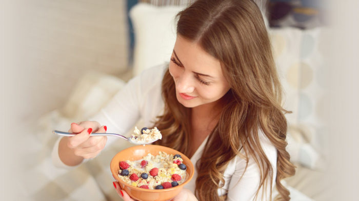 Breakfast food ideas for gorgeous hair
