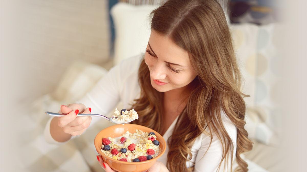 Breakfast food ideas for gorgeous hair