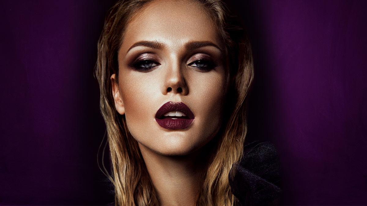 Vampy chic look: il makeup per Halloween!