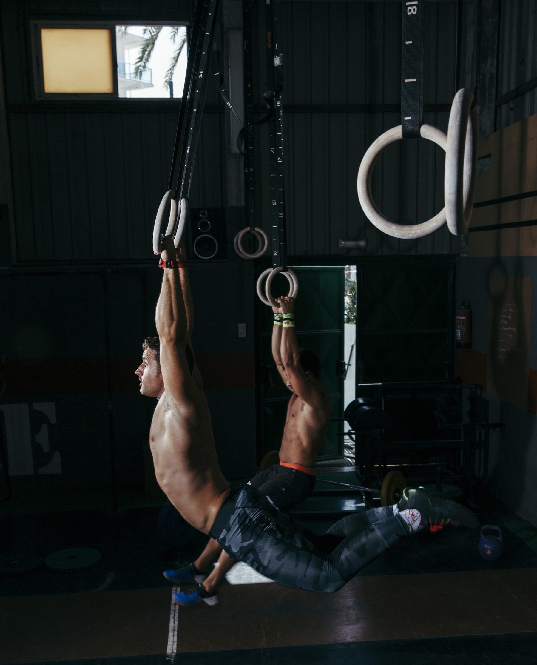 Muscle-up teknik