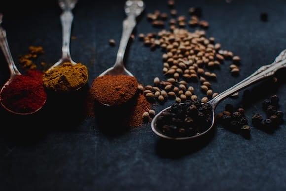 Krydderier og forbrænding