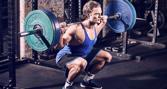 squat baller af stål