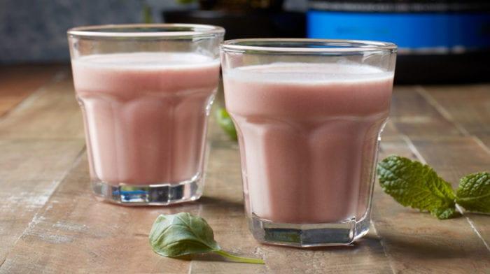 TheWhey jordbær protein shake | Forfriskende post-workout shake