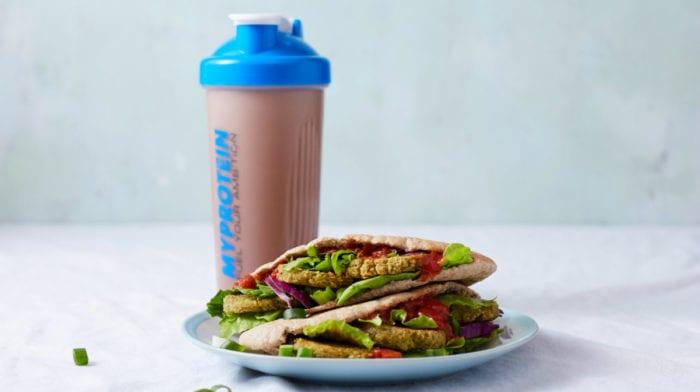 15 minutters vegansk opskrift | Falafel doner kebab