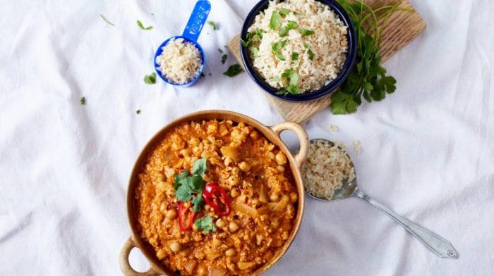 15 minutters vegansk opskrift | Blomkåls tikka masala