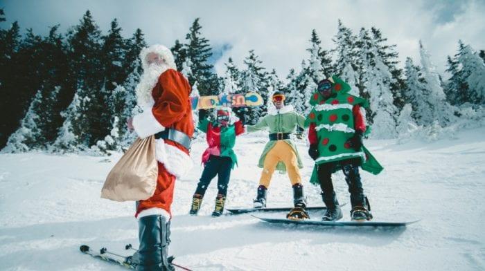 Forbrænd kalorier som julemanden, men hold igen med de søde sager