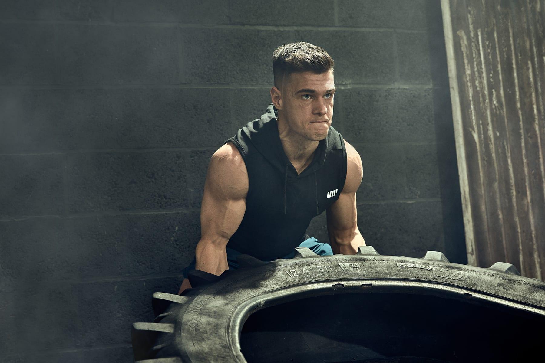 Få større muskler