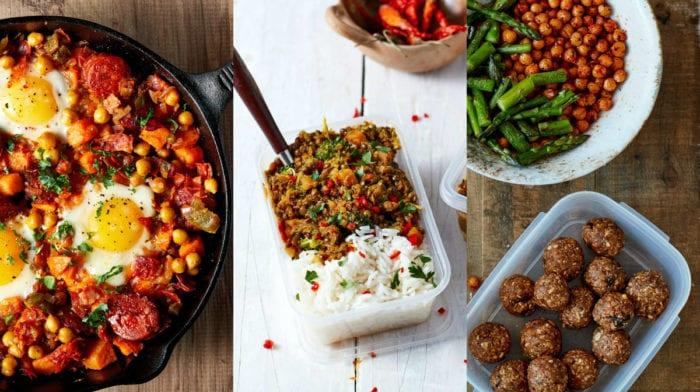 13 sunde meal prep opskrifter til muskelopbygning og fedttab