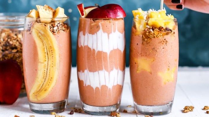 19 protein shakes og smoothies opskrifter til vægttab og muskelopbygning