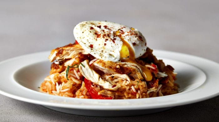 Jambalaya cajun kylling meal prep | Sund og nem proteinopskrift