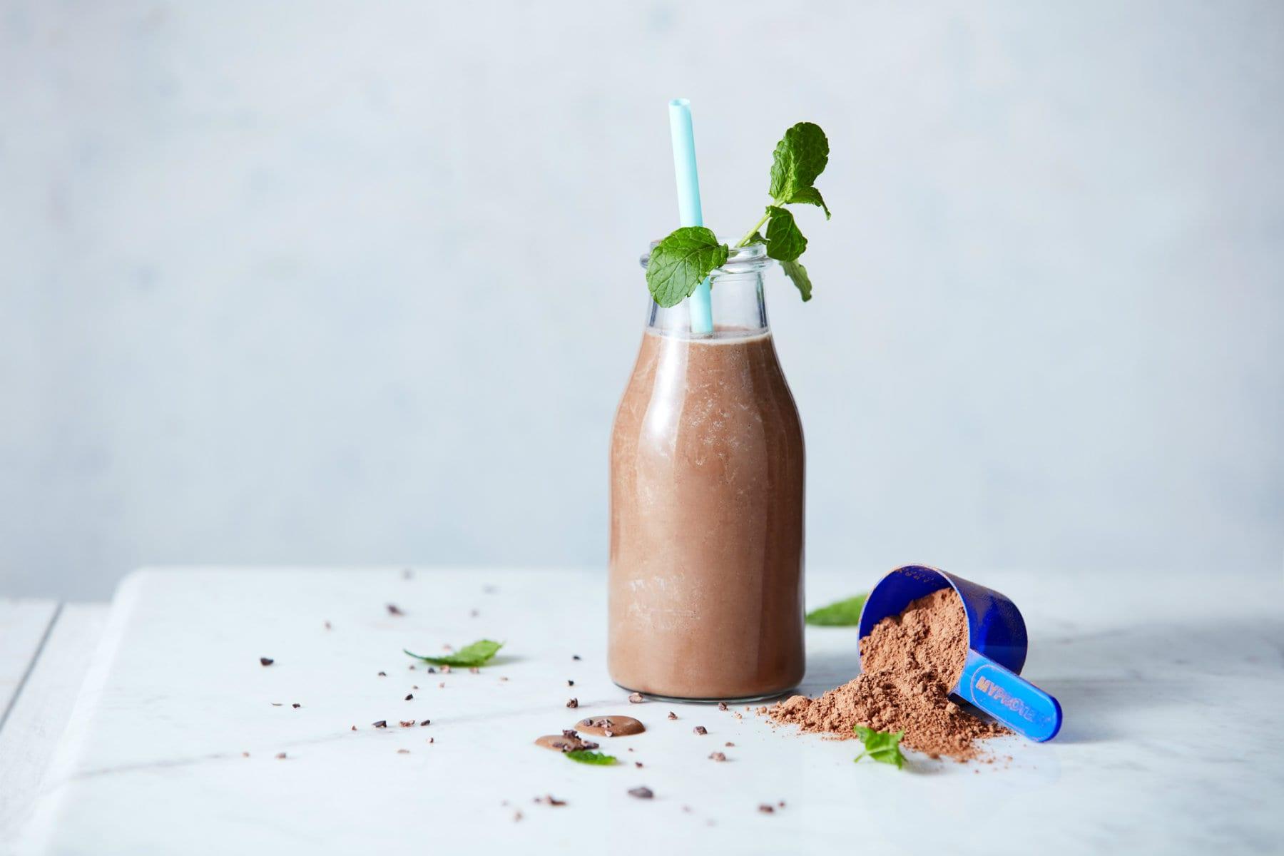 chokolade protein shake